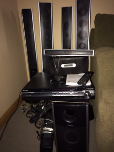 Sony DVD Home Theater System & surround sound