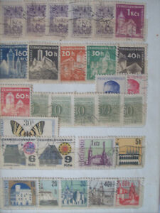 Selling My Stamp Collection,--Czgoslavia Lot # 2