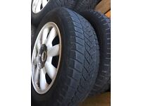 """Mini winter tyres with wheels 16"""""""
