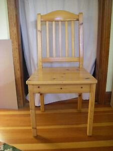 Attractive Solid Pine Chair
