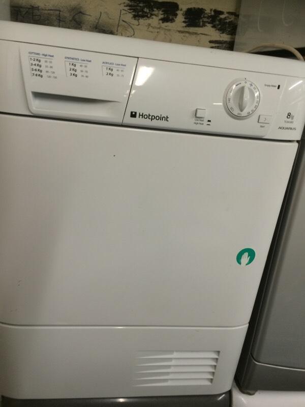 Hotpoint Condenser Dryer 8kg United Kingdom Gumtree