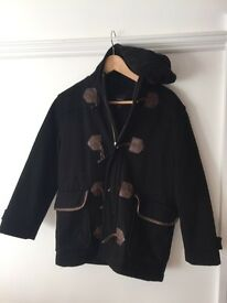 Gap 10-11y Black duffle jacket
