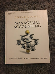 Cornerstones of Managerial Accounting Canadian 2nd Edition