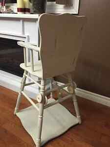 Old School Convertible High Chair