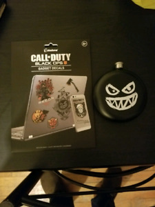 Call of duty black ops 4 flask & decals