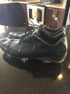 FootJoy DNA Golf Shoes (2 Pairs). White and Black size 12.