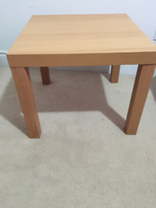 Ikea Lack side table, Wooden pattern, perfect condition, $5