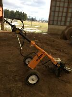 Compac towable post hole auger for sale