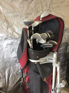 Golf Clubsand Bag