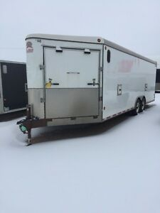 2007 CJAY Enclosed snowmobile Trailer / Car Hauler 8x23