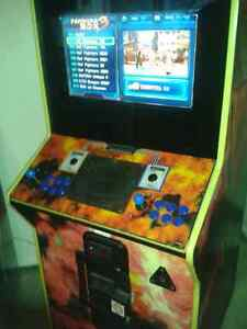 520 in 1 coin operated arcade machine