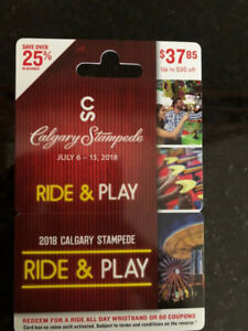 Stampede Ride and Play Passes/Tickets
