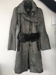Manteau Mackage gris neuf - Mackage coat grey new - Taille XS