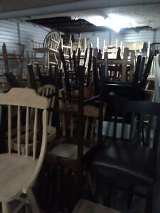 Chairs and stools - Clearout Pricing!