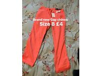 Ladies trousers size 8-12