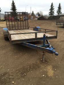 14' Utility Trailer with 6,000lb axle