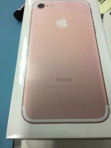 iPhone 7 256GB (UNLOCKED) - Brand New in Box (SEALED)