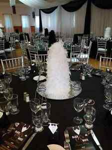 decorations for Black and White party/wedding London Ontario image 3