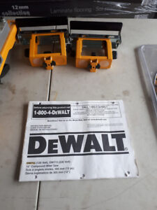"""Selling my used 12""""DeWalt miter saw and stand"""