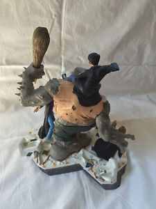 "Harry Potter ""Battling the Mountain Troll"" Collectors Piece Sarnia Sarnia Area image 8"