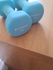 2 x 3KG Energetics Dumbbells