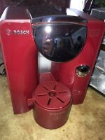 Tassimo Coffee Maker with storage case