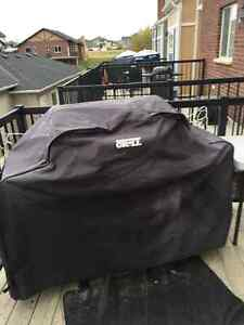 Backyard Grill Propane BBQ and Cover and Tank