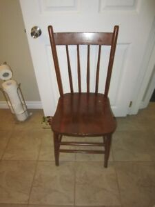 wooden chairs