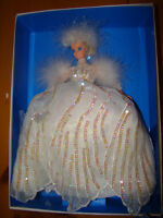 SNOW PRINCESS BARBIE DOLL ENCHANTED SEASONS COLLECTION 1994