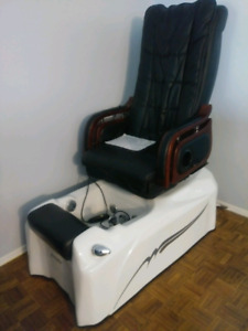 Spa Massage chair and foot bath