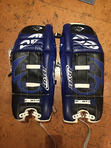 youth goalie pads 27 in
