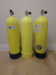 Scuba diving tanks for sale - with warranty