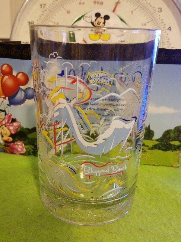 Disney Glass Cup 25th Anniversary Magic Blizzard Beach Typhoon Lagoon