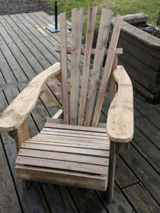 Cedar Adirondack Chairs - Sanded Finish