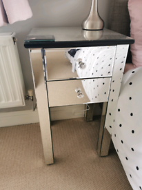 Mirrored bedroom furniture, RRP over £350
