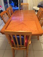 Table de cuisine kitchen set