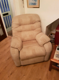 Arm chair only used for the occasional visitor