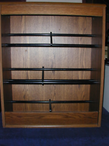 STORAGE CABINET for: cds/dvds/vhs or shoes?).MADOC **PRICE SLASH