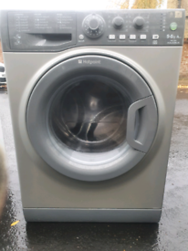 Hotpoint Aquarius grey 9kg wash 6kg dry delivered and installed today