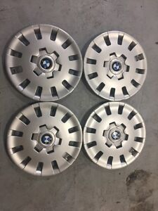 Full set of 16 inch BMW hubcaps