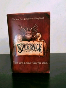 $25 Books of The Spiderwick Chronicles in box. Series Books 1-5