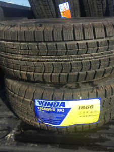 Brand new winter tires set of 2 195/60/r15 more sizes available