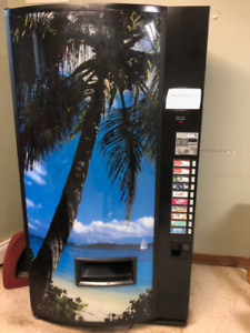 1 Pop and 1 Snack Vending Machines - Quick Sale
