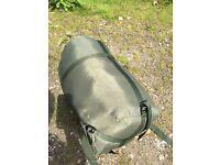 Trakker big snooze sleeping bag, thermal cover carp fishing