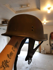 Medium German half helmet