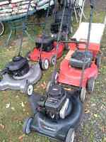 LAWNMOWERS SEVERAL TYPES