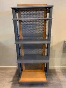 Heavy duty adjustable shelving unit shelf