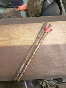 Hilti Hammerdrill Bits $20 for both