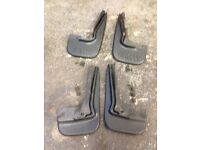 BMW E36 mudflaps. With clips and fittings.