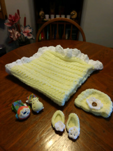 Yellow Newborn Baby Kit